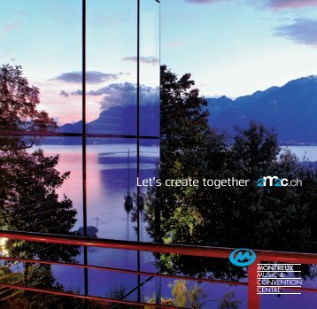 Let's create together - Montreux Music & Convention Centre