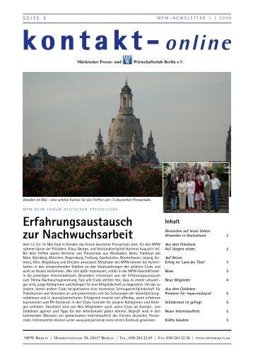 kontakt-online - Märkischer Presse