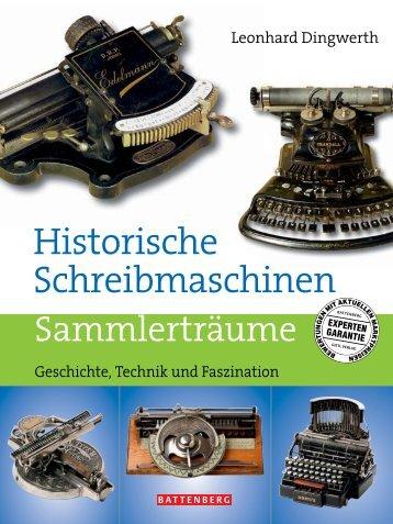 Faszination Schreibmaschinen neu - Gietl Verlag