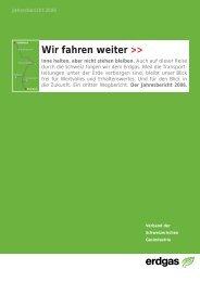 Jahresbericht VSG 2006 - Erdgas