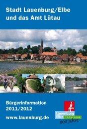Stadt Lauenburg/Elbe und das Amt Lütau - Inixmedia