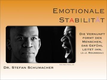 Emotionale Stabilität - DrSchumacher.de