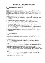 Statuten CVP Ingenbohl-Brunnen (2001)