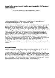 Waffenrecht - Fatscher, Thomas, Kapuzinerstr.