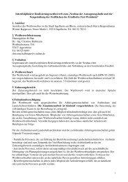 """Interdiziplinärer Realisierungswettbewerb zum """"Neubau ... - Ingelheim"""