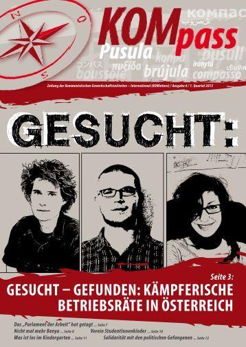 KOMpass – Ausgabe 6 / 1. Quartal 2013 - Kommunistische ...