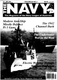The Navy Vol_66_Part2 2004 - Navy League of Australia