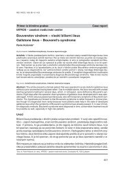 Bouveretov sindrom – visoki biliarni ileus Gallstone ileus ...