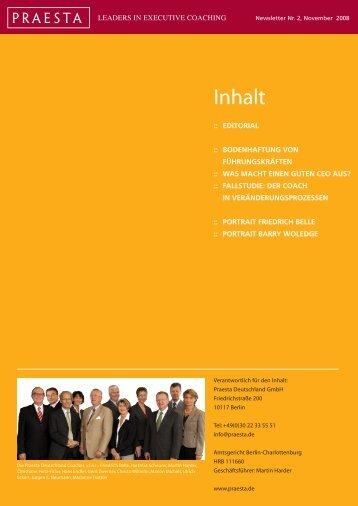 Download Newsletter als PDF - Praesta