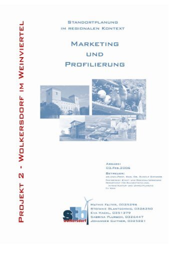 Marketing und Profilierung