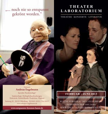 Februar - Juni 2013 - Theater Laboratorium