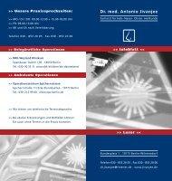 Infoblatt Laser - Dr. A. Jivanjee