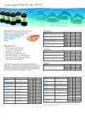 FLÜSSIGKEITSCHROMATOGRAPHIE Bewährte Produktlinien für ... - Seite 2