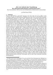 Hans-Georg Ulrichs, Calvin-Jubiläum 1909.pdf - reformiert-info.de