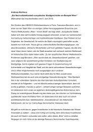 Andreas Nierhaus - Europaforum Wien