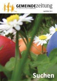 Ausgabe April/Mai 2011 - Martin-Luther-Kirche