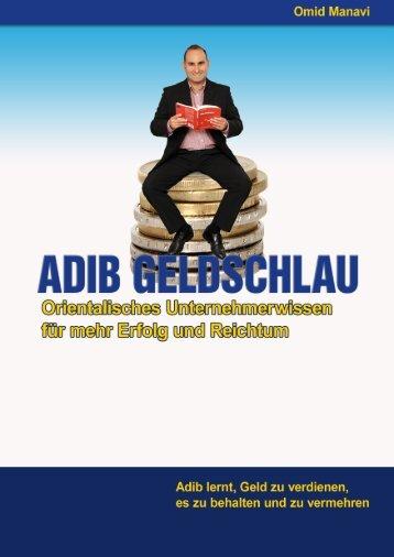 Adib Geldschlau Leseprobe - Finanzhandwerk