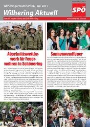 Juli 2011 - SPÖ Oberösterreich