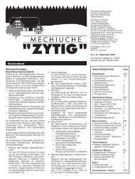 Nr.5 - 21. September 2007 - Meikirch