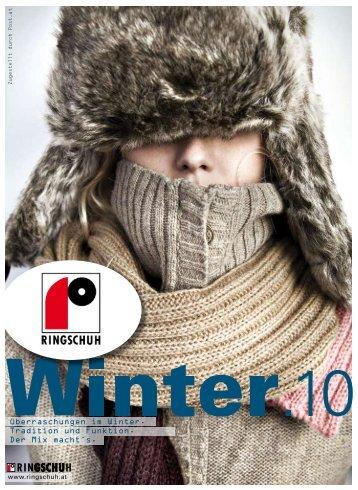 Überraschungen im Winter. Tradition und Funktion ... - RINGSCHUH.at