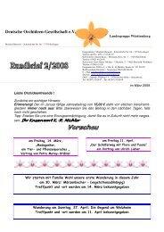Deutsche Orchideen-Gesellschaft e.V. - Orchidee-wuerttemberg.de