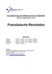Französische Revolution - Medienzentrum Bielefeld