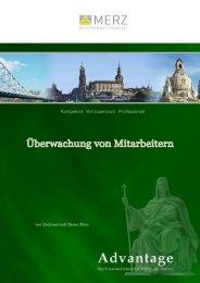 Überwachung von Mitarbeitern - Anwaltskanzlei Merz - Dresden
