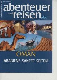 Sonderbeilage Oman - Oman.de