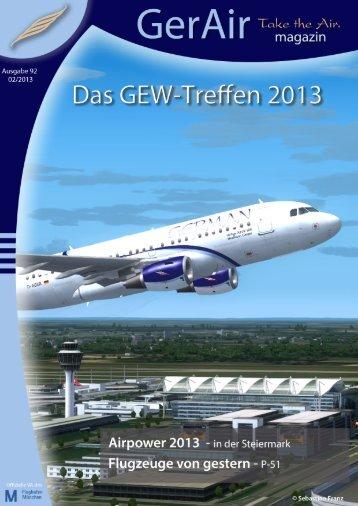 Zum Magazin... - German Airways