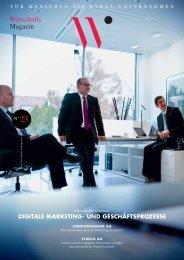 digitale marketing- und geschäftsprozesse - Wirtschaftsmagazin