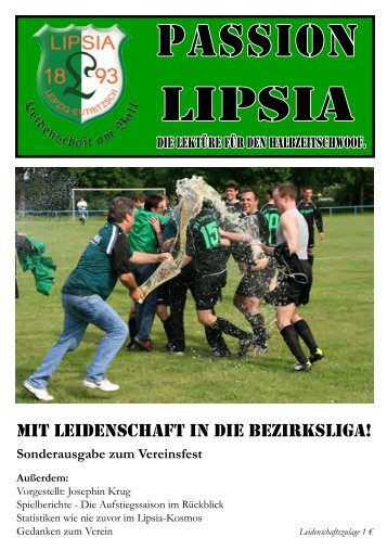 Heft 16 - SV Lipsia 93 Leipzig-Eutritzsch
