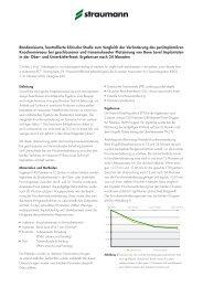 Randomisierte, kontrollierte klinische Studie zum Vergleich der ...