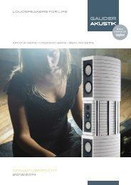 Gesamtübersicht 2013 (PDF) - Gauder Akustik