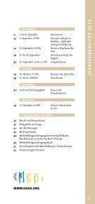 Unser aktuelles Programm für 2013 als PDF zum Download - Seite 5