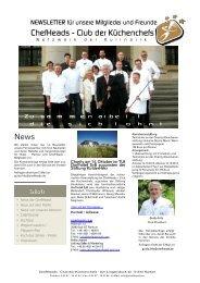 ChefHeads - Club der Küchenchefs News