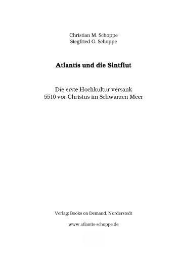 vorwort - Atlantis und die Sintflut im Schwarzen Meer