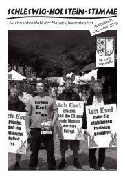 Alle Jahre wieder - Schleswig-Holstein-Stimme