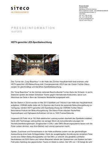 PDF - Siteco Österreich GmbH