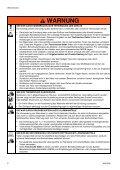 Warnhinweise - Verderair - Seite 6