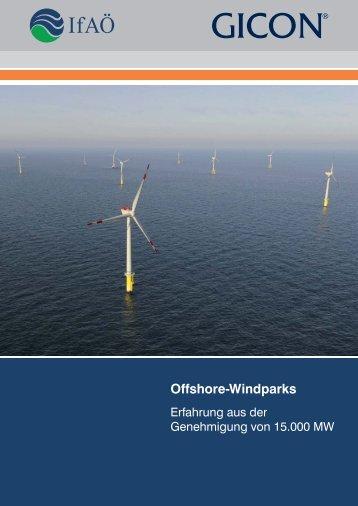 Offshore Windparks DE - INSTITUT für Angewandte ...