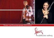 Theater- und Konzertprogramm 2013/2014 - Stadttheater Amberg