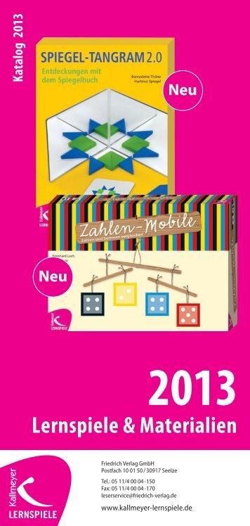 Neu - Friedrich Verlag