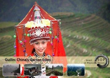 Guilin: China's Garten Eden SOP - SoP-Travel