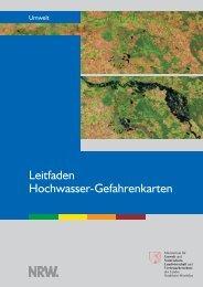 Leitfaden Hochwassergefahrenkarten NRW