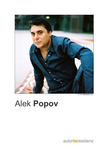 Alek Popov - Residenz Verlag