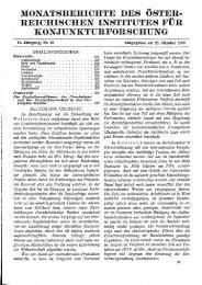monatsberichte des öster- reichischen institutes für ... - Wifo