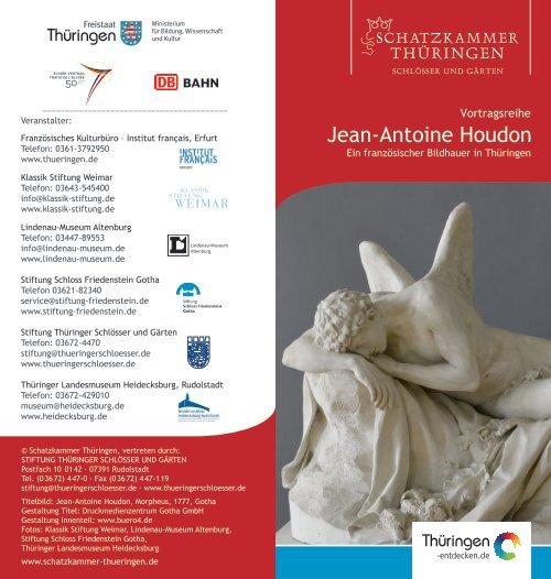 Jean-Antoine Houdon - Schatzkammer Thüringen