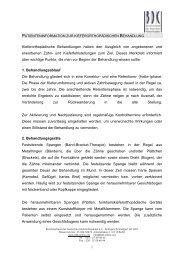 Merkblatt zur Behandlung mit sequentiellen ... - Praxishaus Preetz