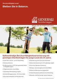 BU smart Highlight-Blatt - Die VersicherungsAgenten