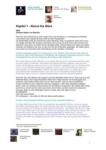 Kapitel 1 - Above the Stars - Space 2063